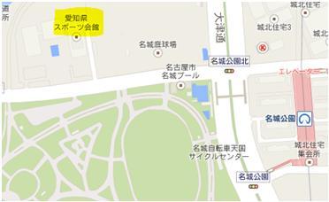 MAP愛知県スポーツ会館